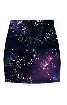 Cosmic Pencil Skirt