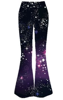 Cosmic Flared Leggings