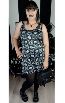 Auric Sphynx Vest Dress