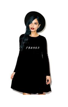 F.R.E.A.K.S Ebony Dress