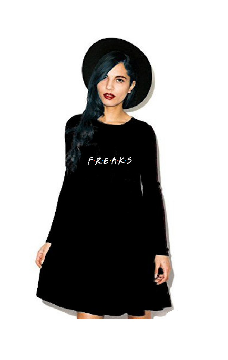 F.R.E.A.K.S Ebony Dress