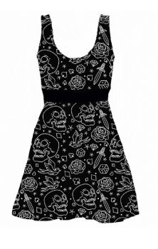 Fucking Fabulous Skater Dress