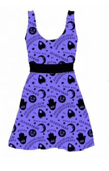Spirit World Skater Dress