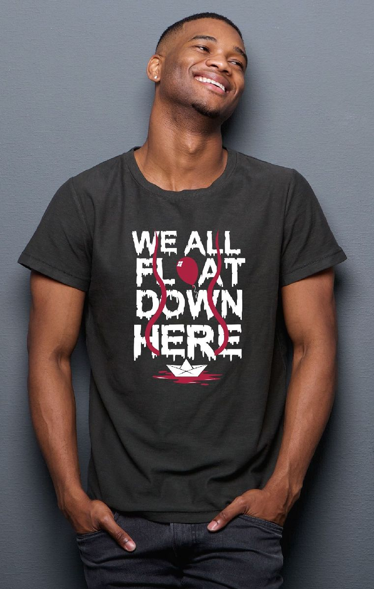 We All Float Mens T Shirt