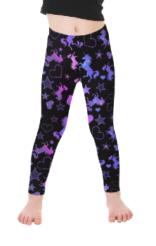 Galaxy Unicorn Kids Leggings
