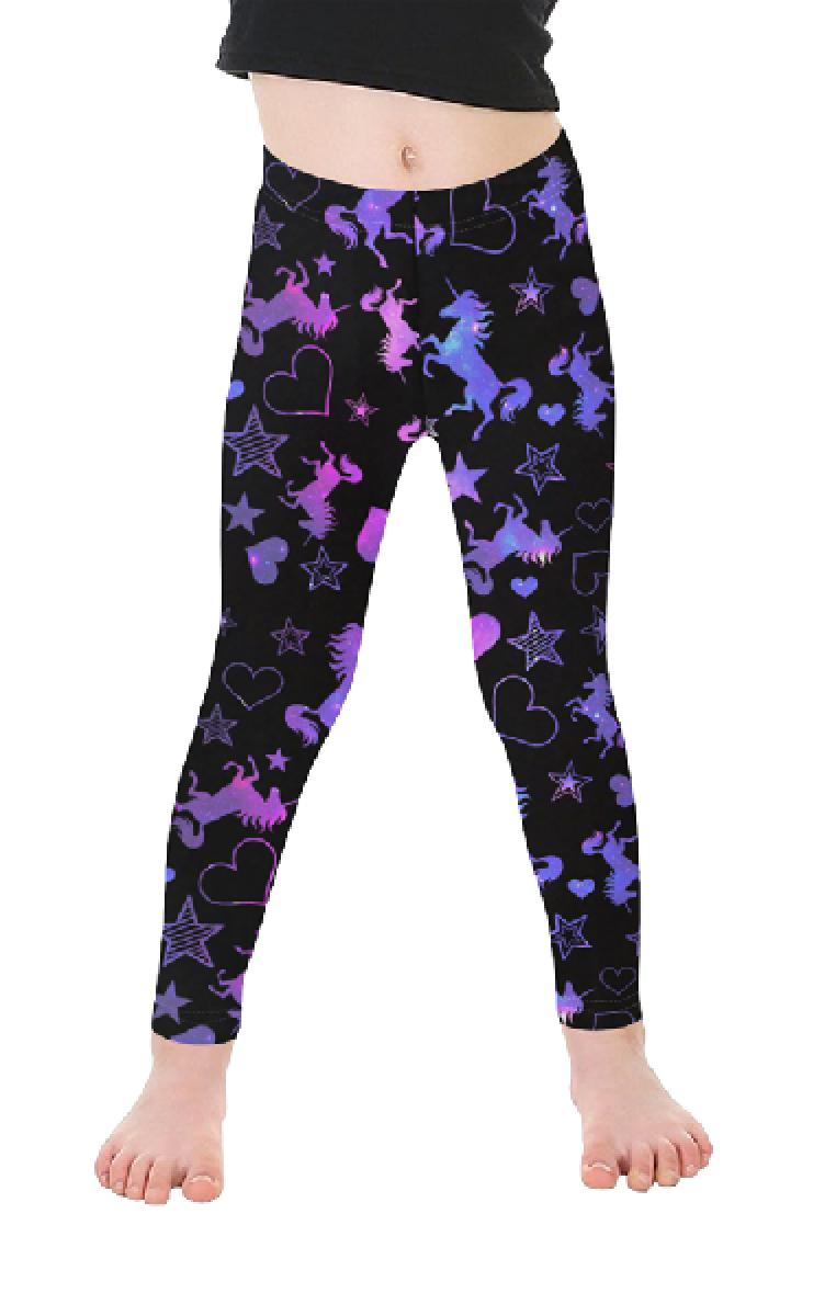 Galaxy Unicorn Kids Leggings