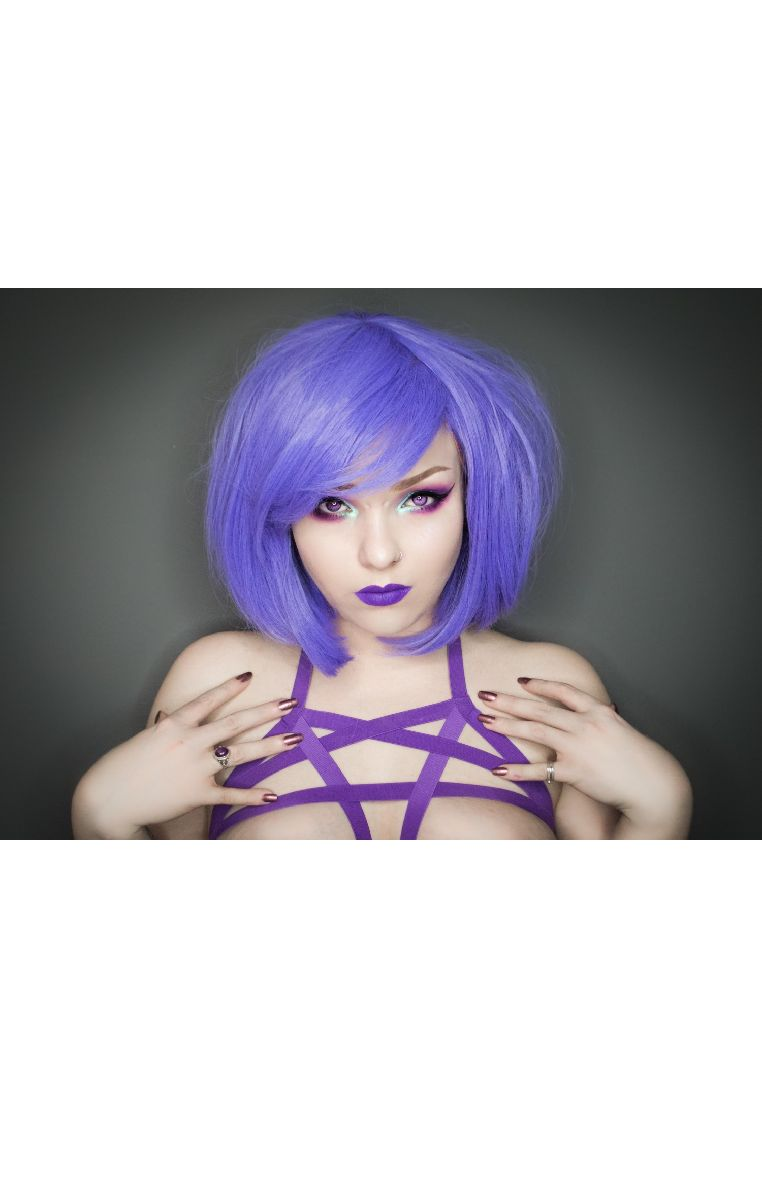 Pentagram Harness Purple