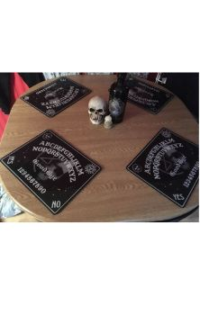 Ouija Dinner Placemats Set of 4