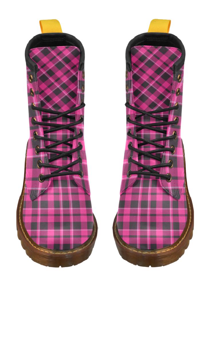 Hermie Tartan Boots