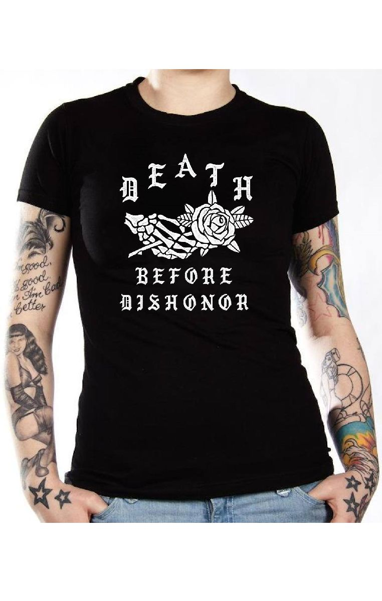 Death Before Dishonor T Shirt
