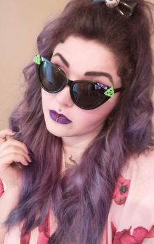 Triquetra Cat Eye Sunglasses