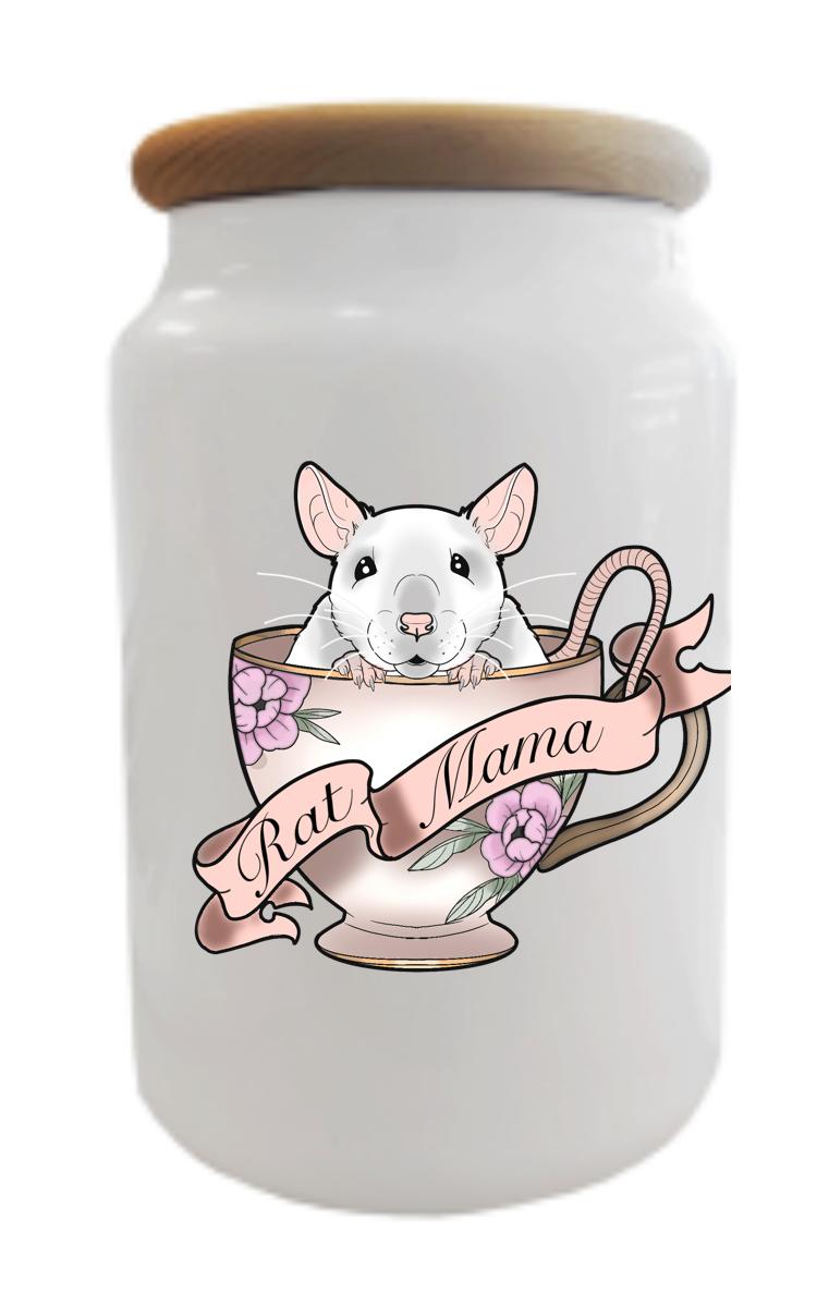 Rat Mama Treats/Cookie Jar