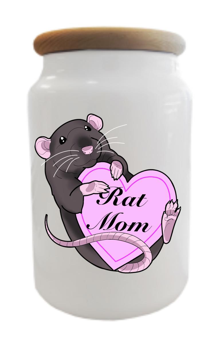 Rat Mom Treats/Cookie Jar
