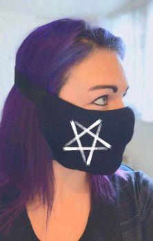 Inverted Pentagram V Mask