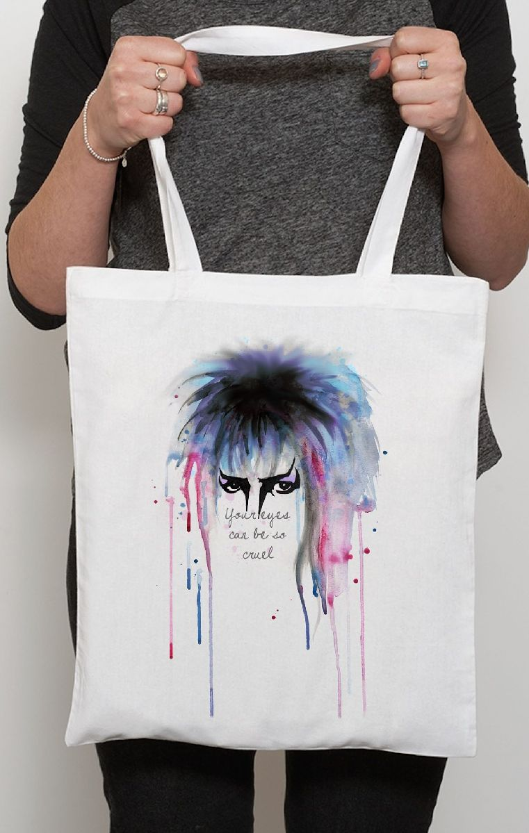 Labyrinth Eyes Tote Bag
