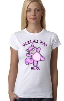 We're All Mad Here Top (LVB)