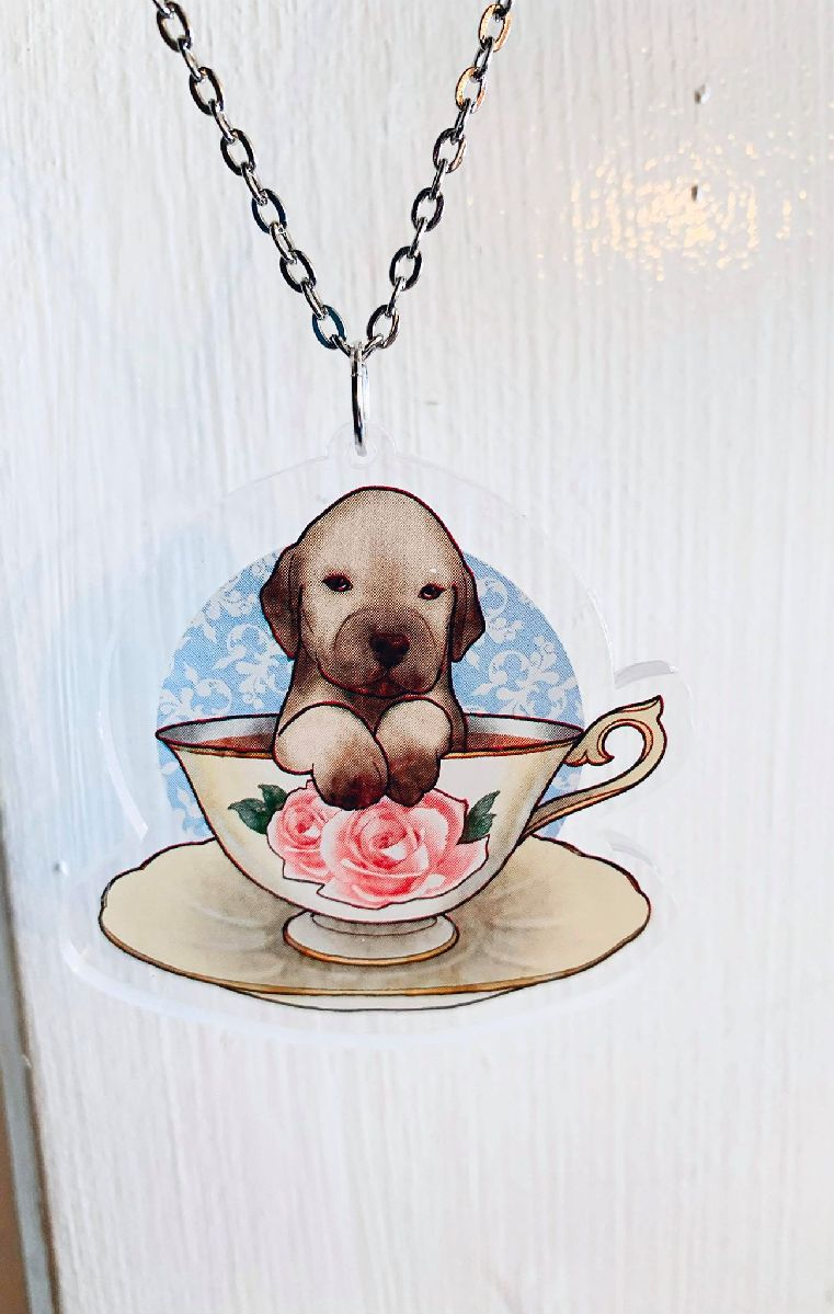 Golden Labrador Necklace