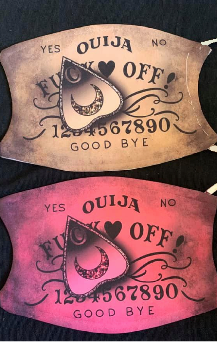 Ouija Fuck Off Mask
