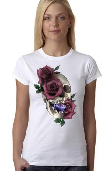 Skull Roses Top