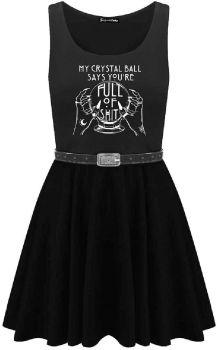 Crystal Ball Skater Dress