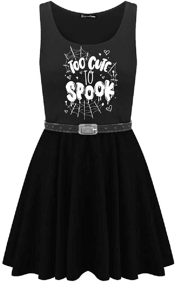Too Cute To Spook Skater Dress