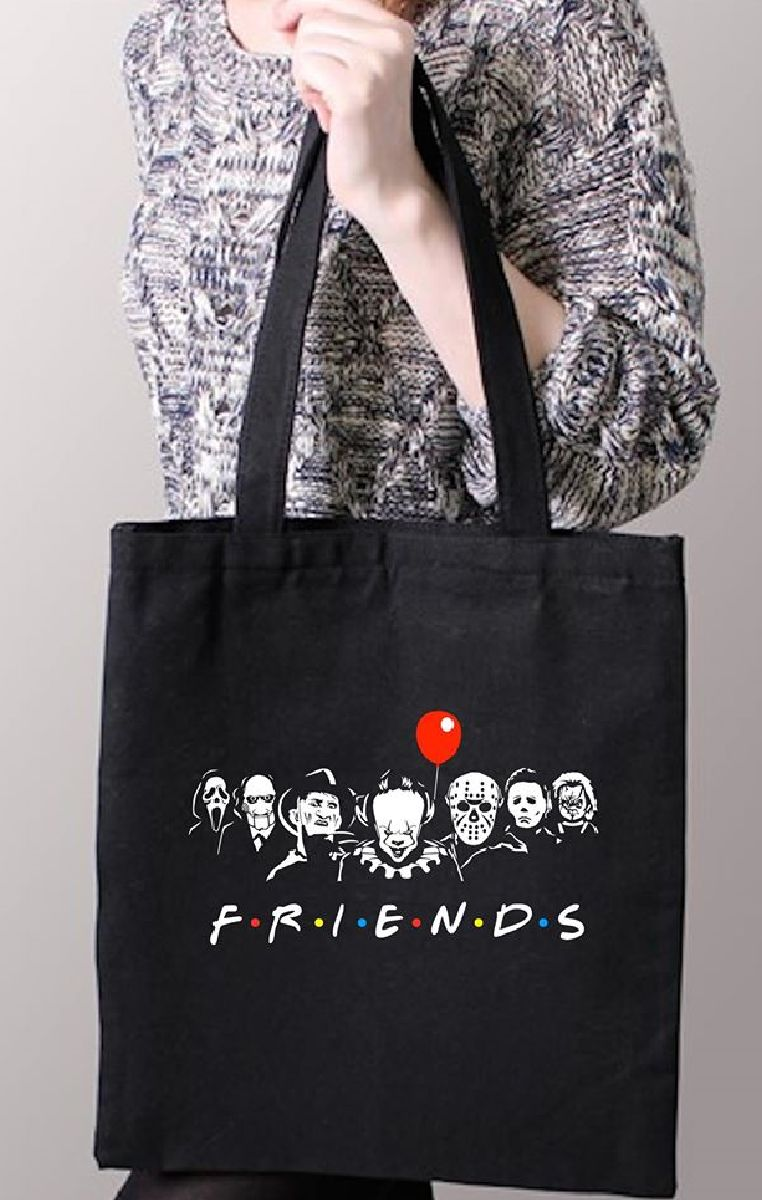 Horror Friends Tote Bag