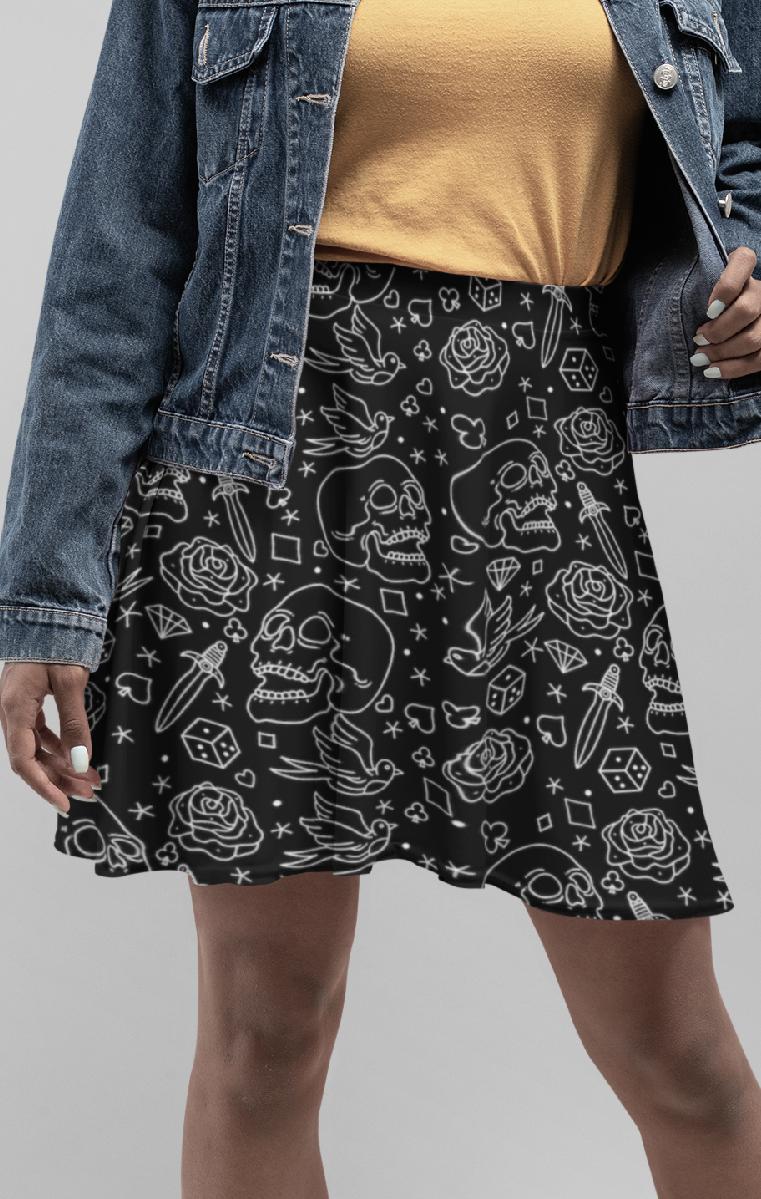 Fucking Fabulous Skater Skirt