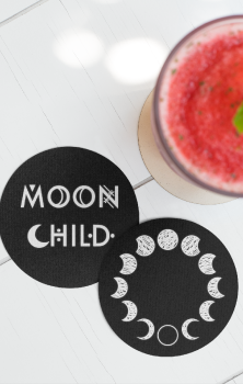 Moon Child Coasters