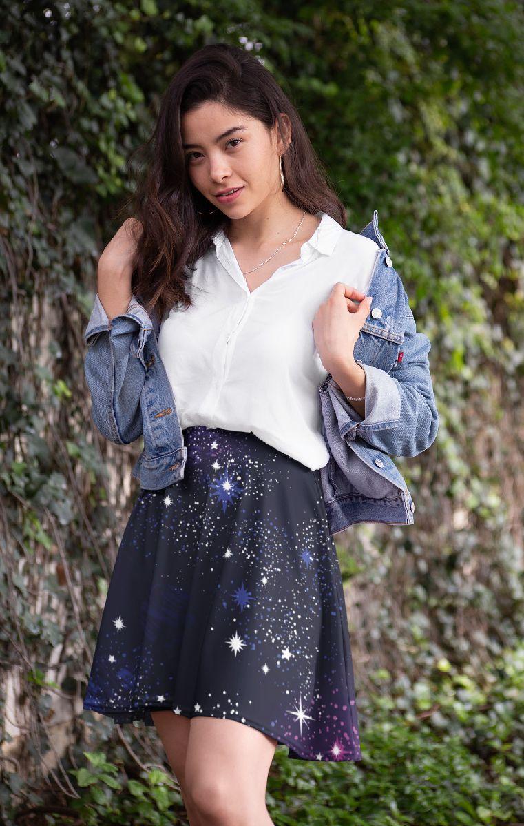 Cosmic Skater Skirt