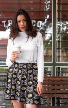 Auric Sphynx Skater Skirt