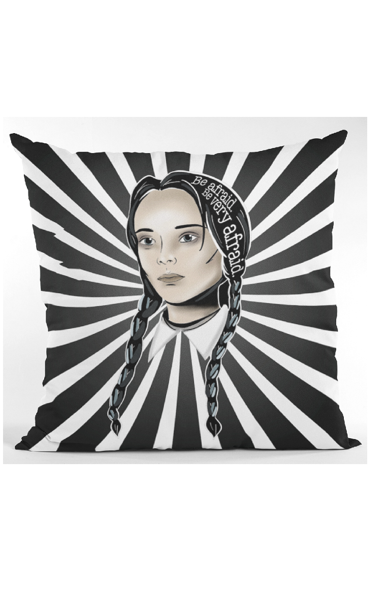 Wednesday Icon Cushion