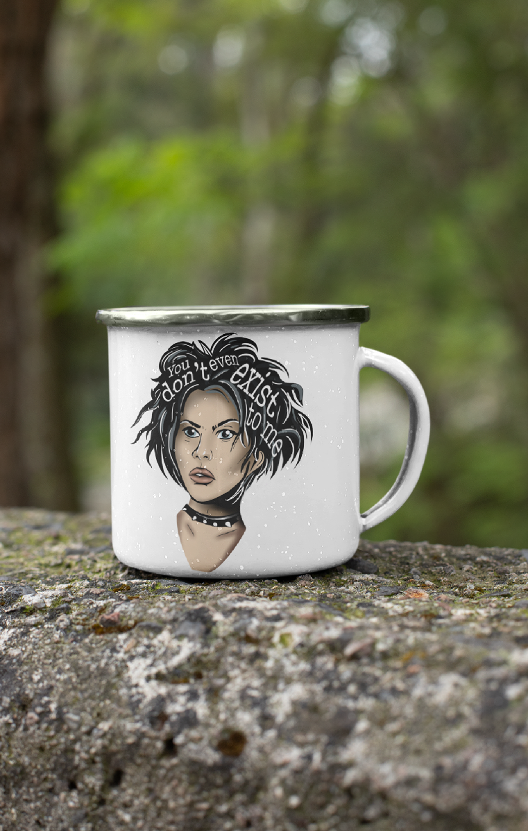 Nancy Icon Enamel Mug