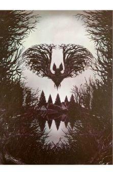 Bat Branches Print