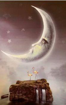 Moon Lagoon Print