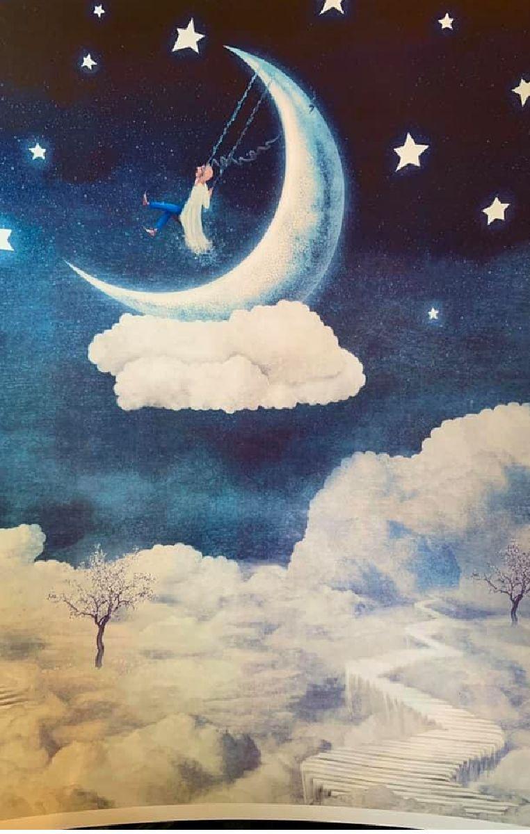 Moon Land Print