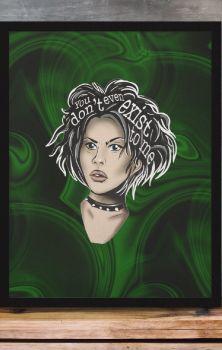 Nancy Icon Print