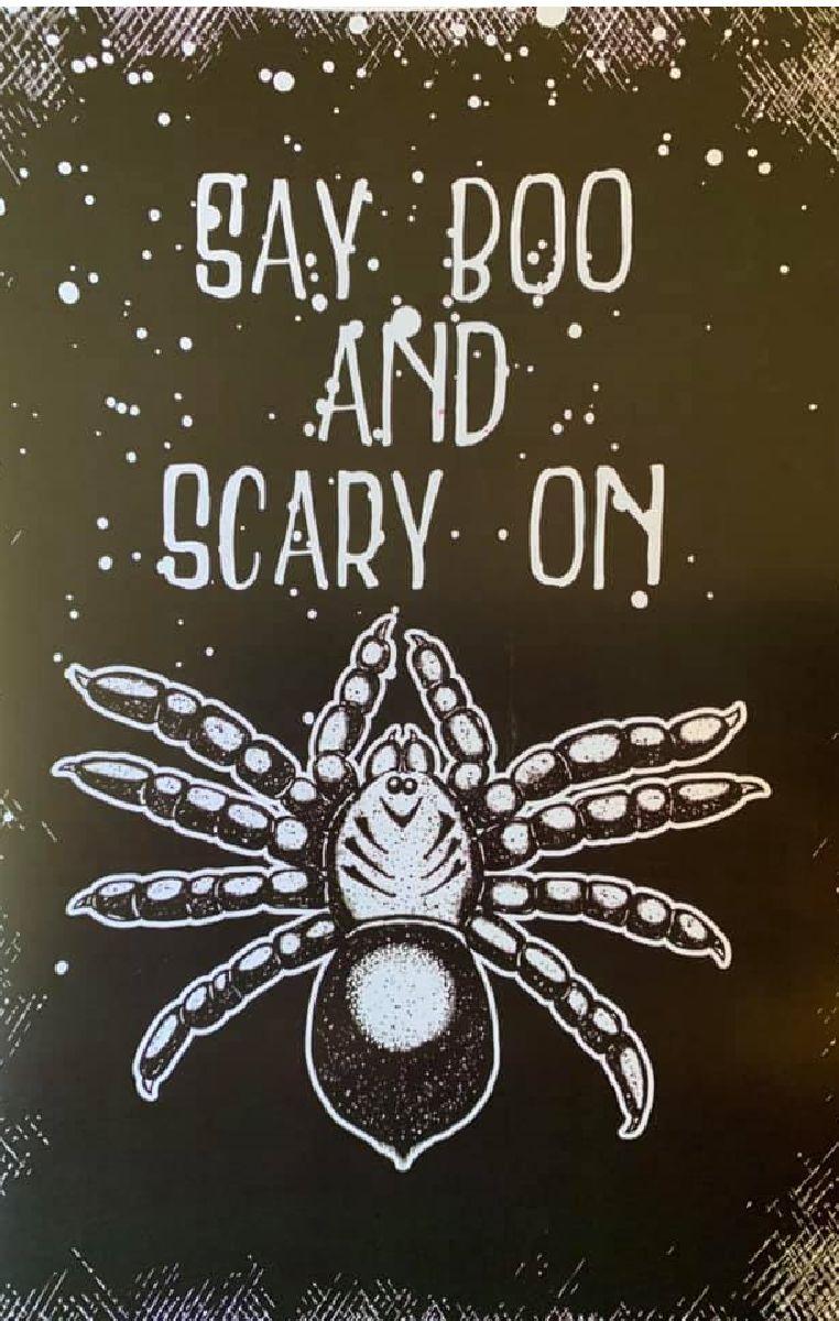 Say Boo Print