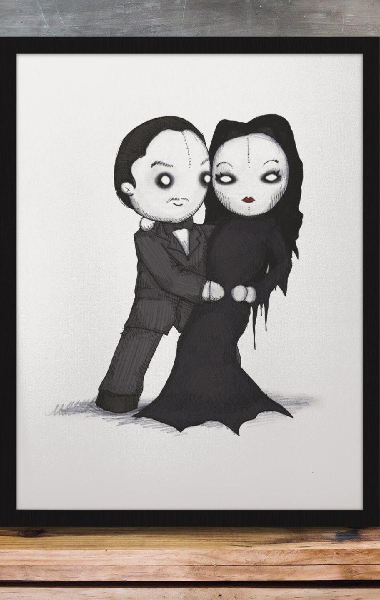 Spooky Love Print