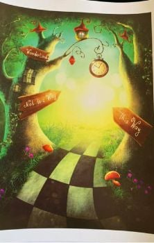 This Way To Wonderland Print