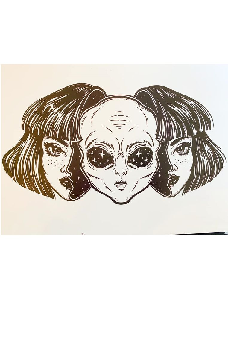 We Are Aliens Print