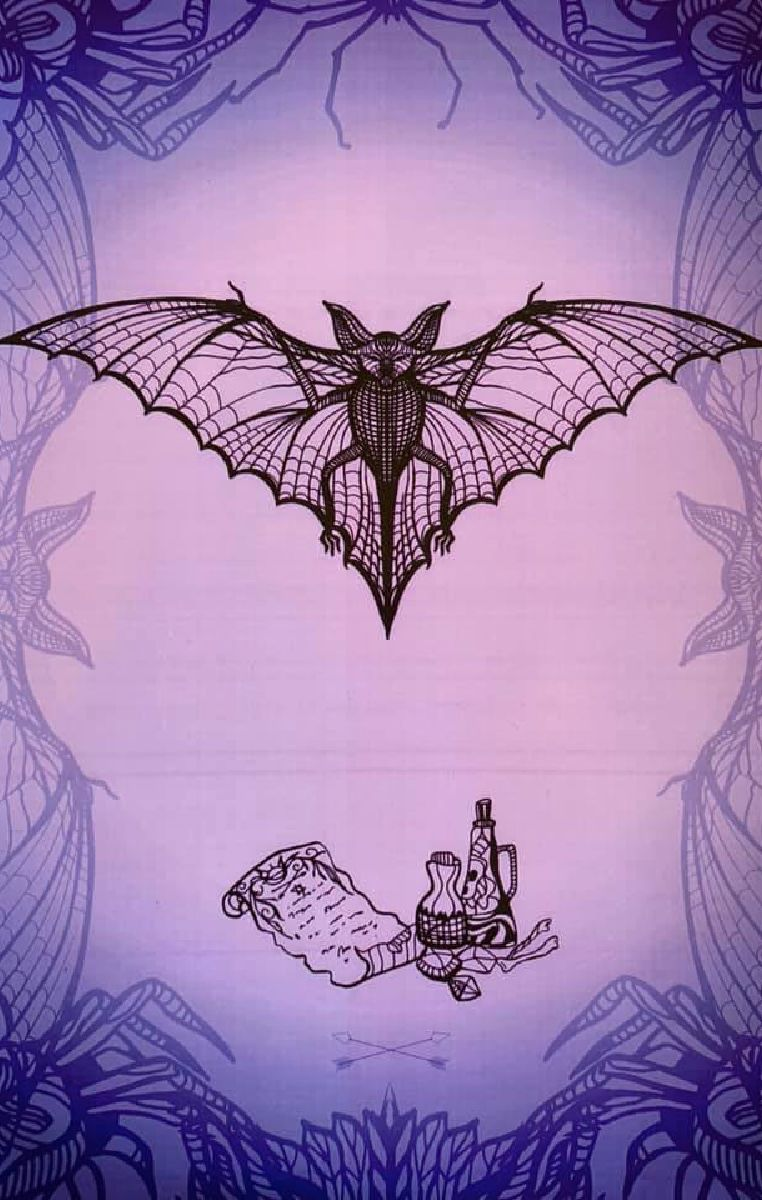 Witchcraft Bat Print