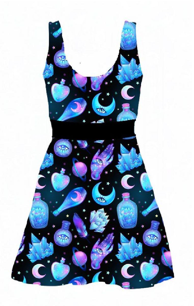 Potions Skater Dress