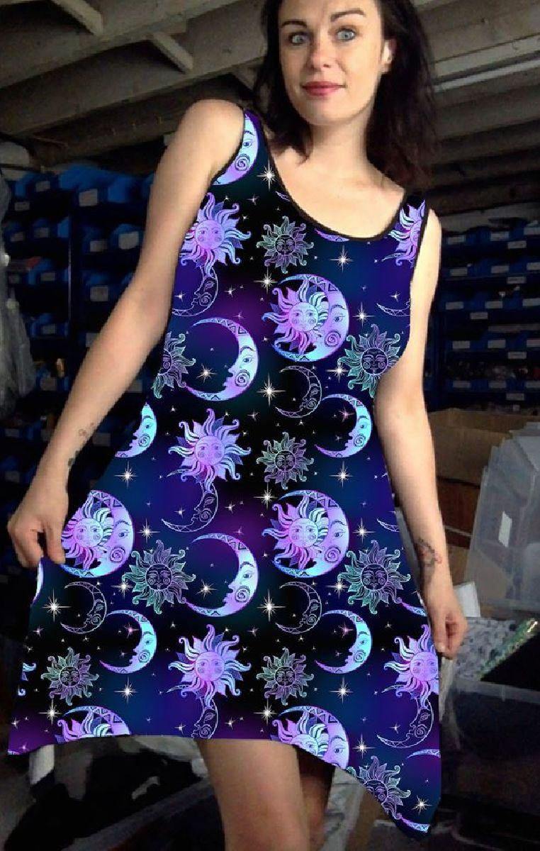 Celestial Vest Dress