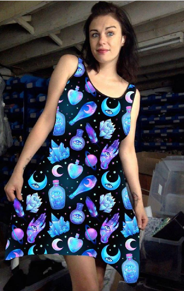 Potions Vest Dress