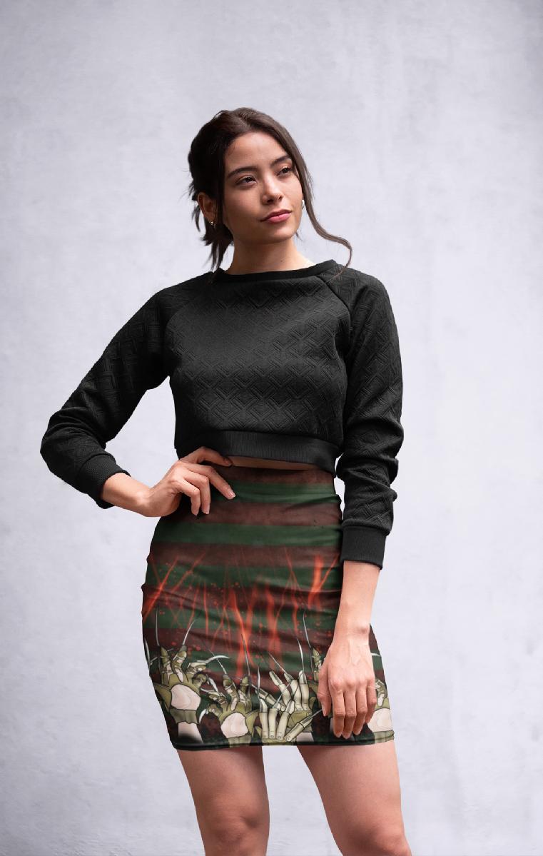 Elm Street Pencil Skirt