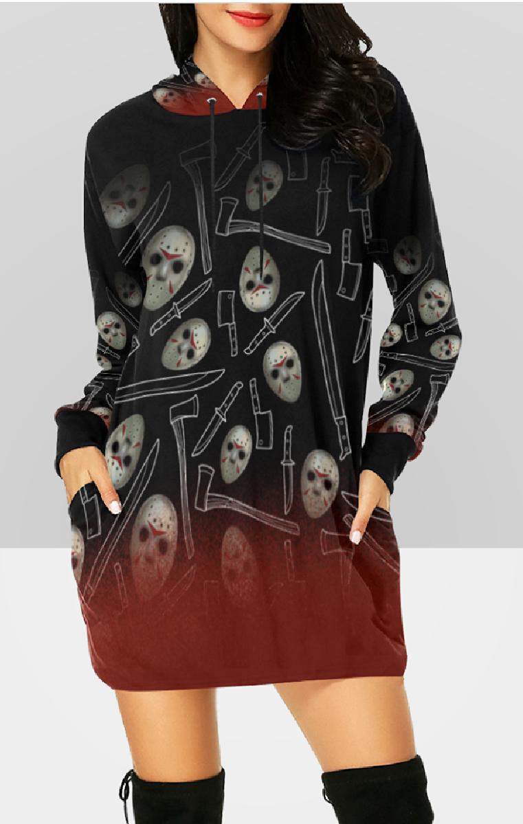 Friday 13th Hooded Dress