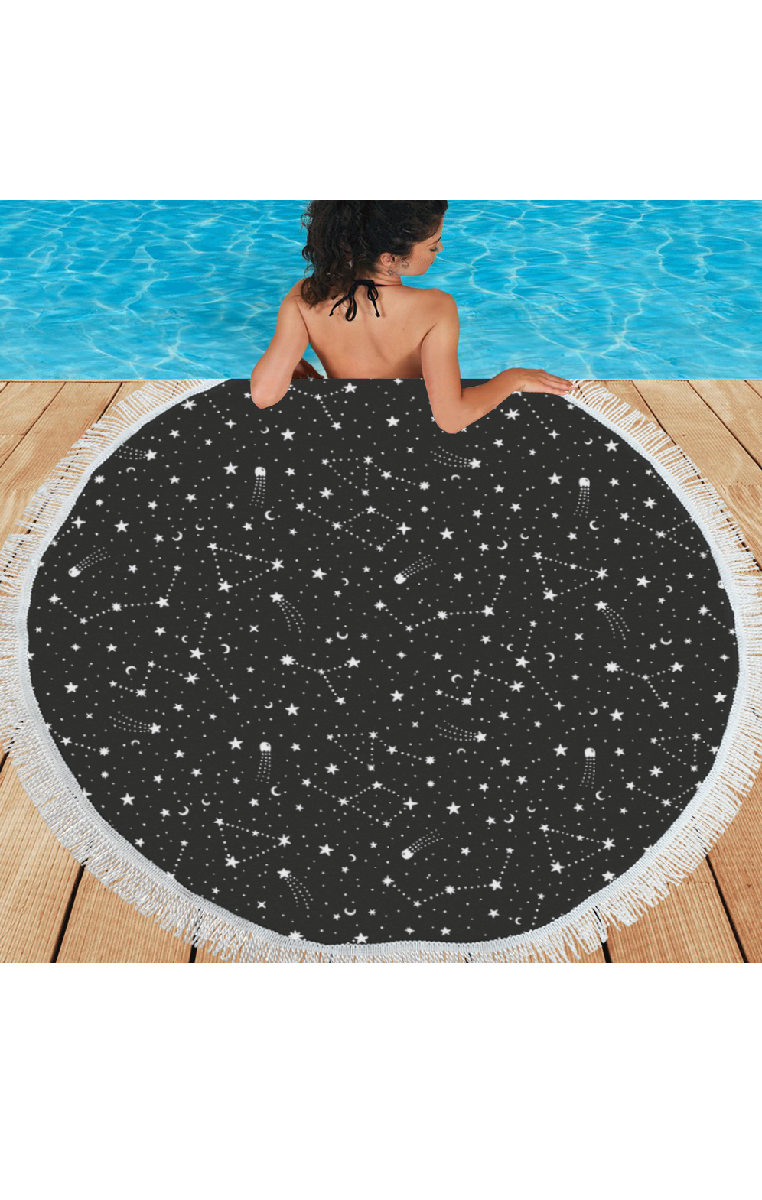 Written In The Stars Area Rug/Beach Mat