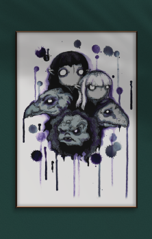 Dark Crystal A4 Print