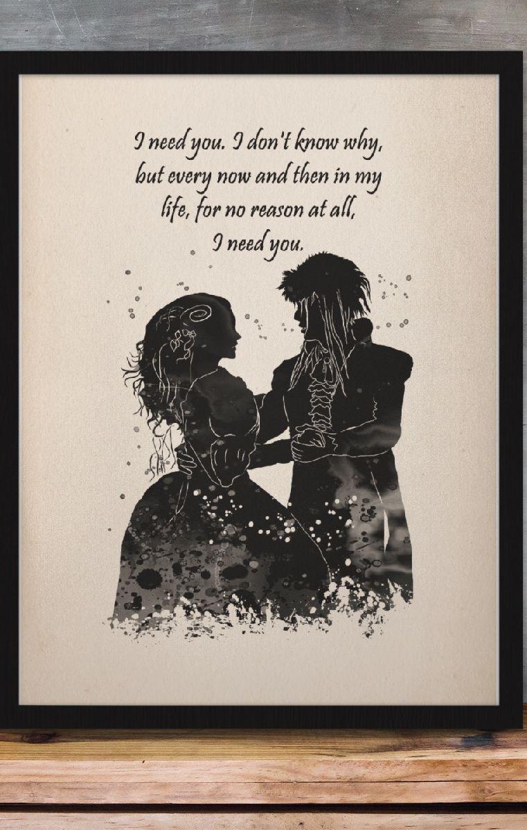I Need You A4 Print