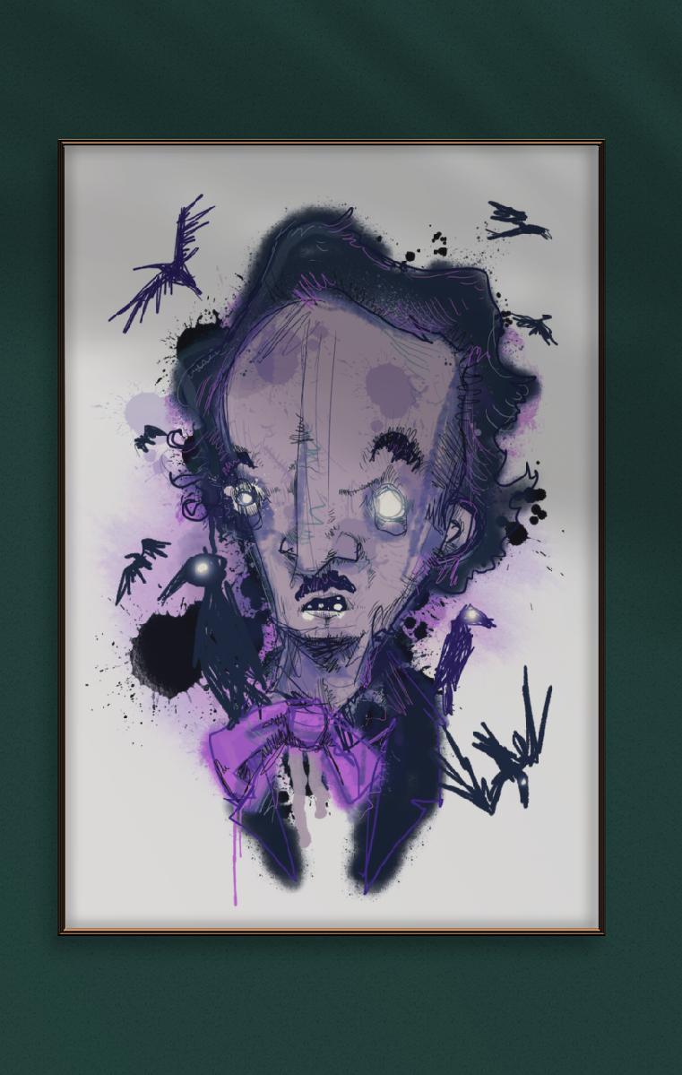 Poe A4 Print